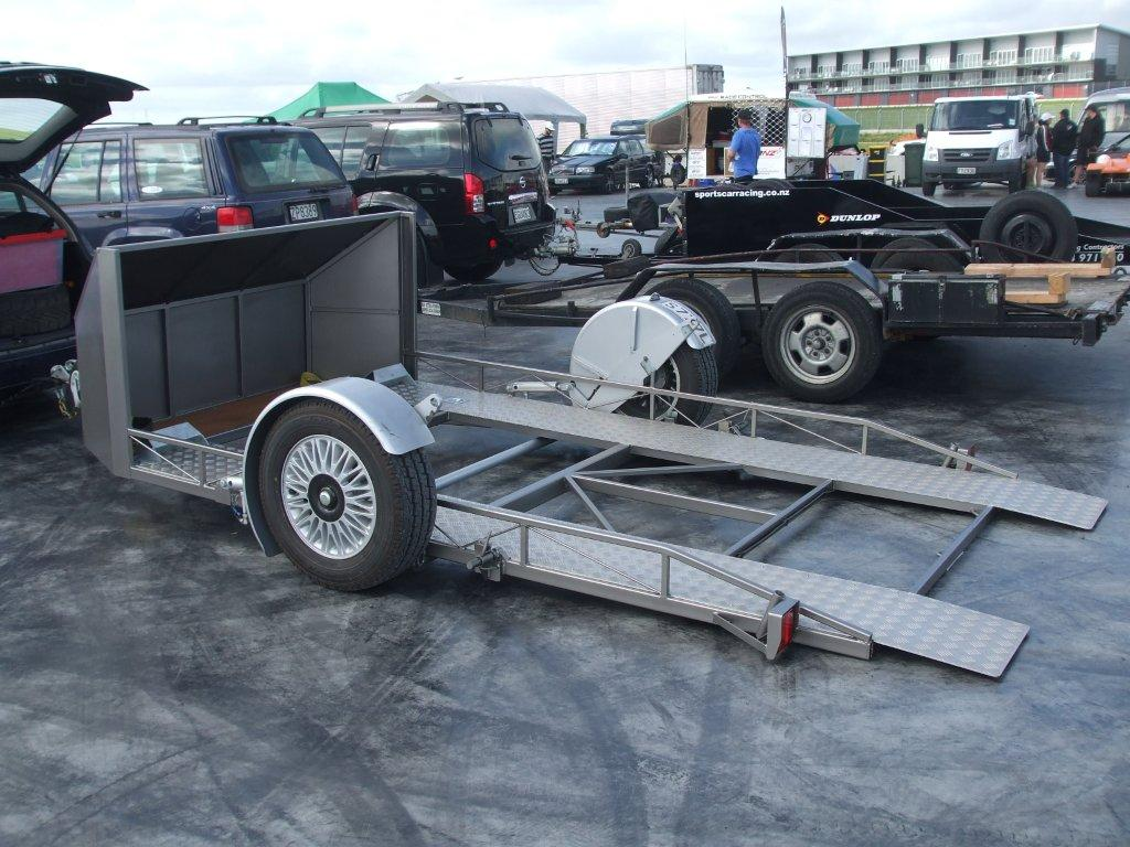 Hydraulic Lowering Trailers : Trailers redline enterprises